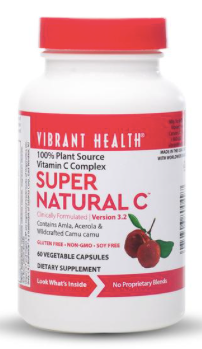 Vibrant Health - Super C (250mg, 60vc)