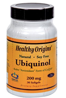 Healthy Origins - Ubiquinol (200mg, 30sg)