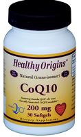 Healthy Origins - CoQ10 (200mg 30sg)