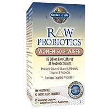 Garden Of Life - Probiotic RAW, Women 50+ (90 vegetarian capsules)