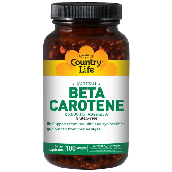 Country Life - Beta Carotene 50sg