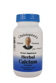 Christopher's Herbal Calcium 100vc