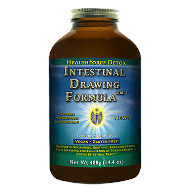 HealthForce - Intestinal Drawing Formula (260 vegan capsules)