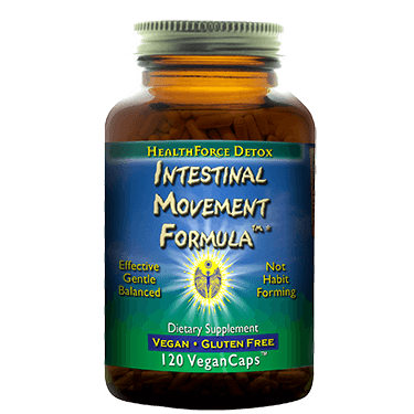 HealthForce - Intestinal Movement Formula (120 vegan capsules)
