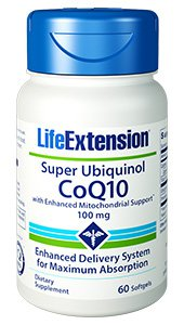 Life Extension - Ubiquinol (100mg 60gels)