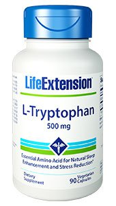 Life Extension - L-Tryptophan (500mg 90vc)
