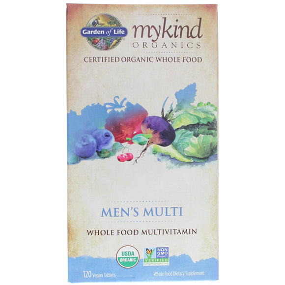 Garden Of Life - myKind Mens Multi (120 vegan tablets)