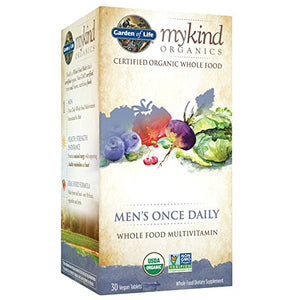 Garden Of Life - myKind Organics Mens Once Daily (30 vegan tablets)