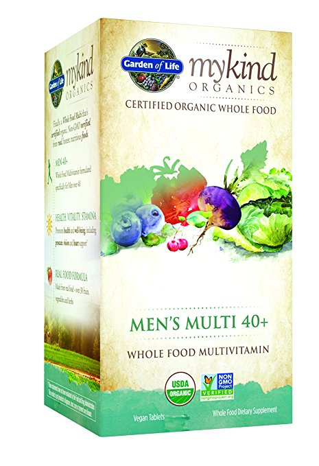 Garden Of Life - myKind Mens Multi 40+ (120 vegan tablets)