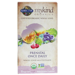 Garden Of Life - myKind Prenatal Once Daily (30 vegan tablets)