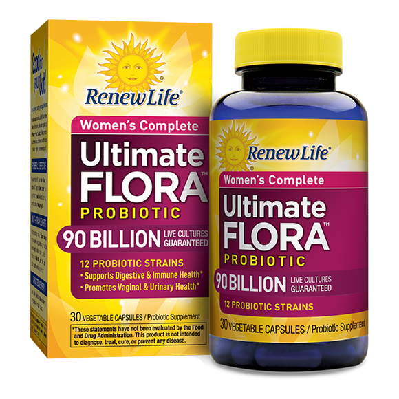 Renew Life - Womens Probiotics 90 billion (30 vegan caps)