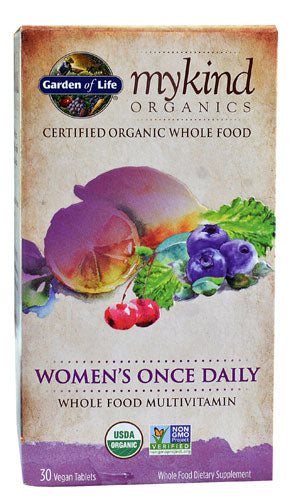 Garden Of Life - myKind Womens 1daily (30 vegan tablets)