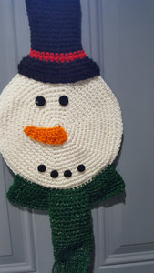 Snowman Door Ornament