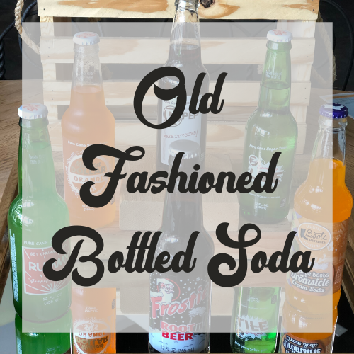 Excel Old Fashioned Sodas