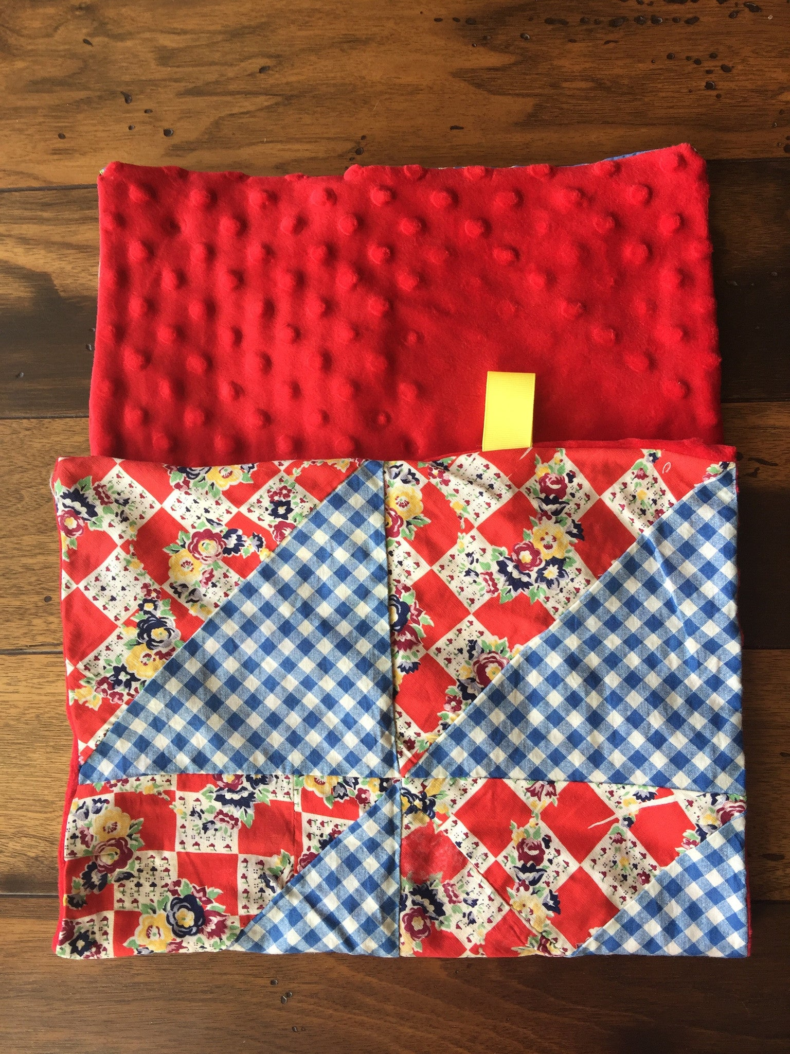 Lovie Quilt Blanket-Tagged