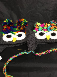 Crotchet Owl Hats