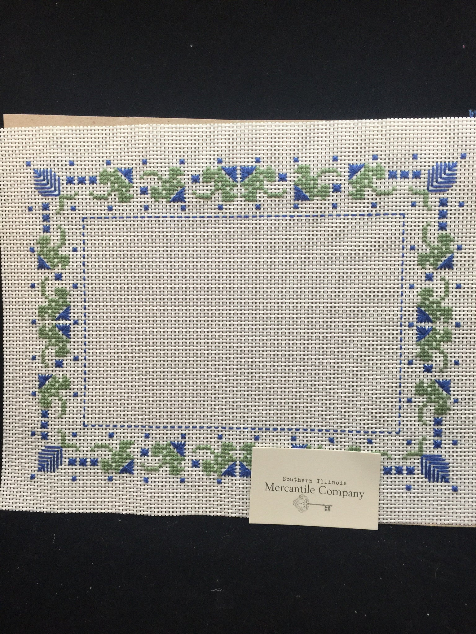 Cross Stitched Frame Mattes