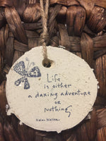Quoted Rustic Ornament