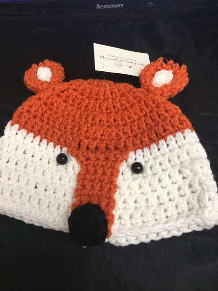 Crocheted specialty hats
