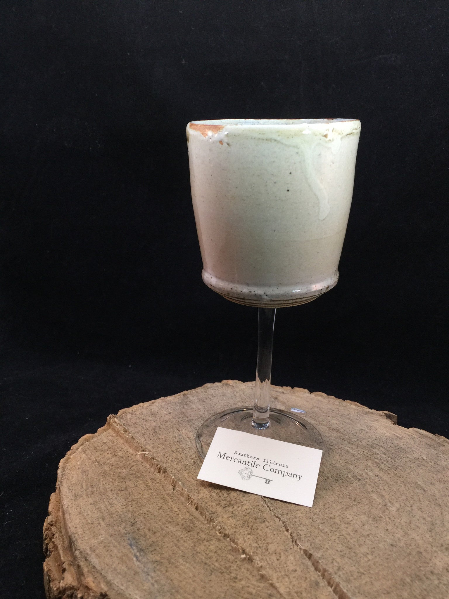 Clinton Glass Goblet Cup