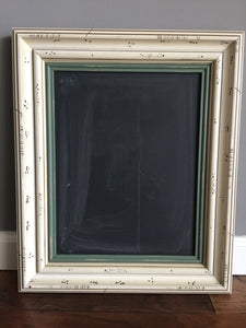 Battered Two Tone Chalkboard