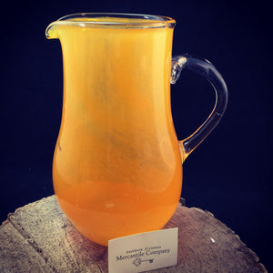 Clinton Glass Hand Blown Juice Pitcher