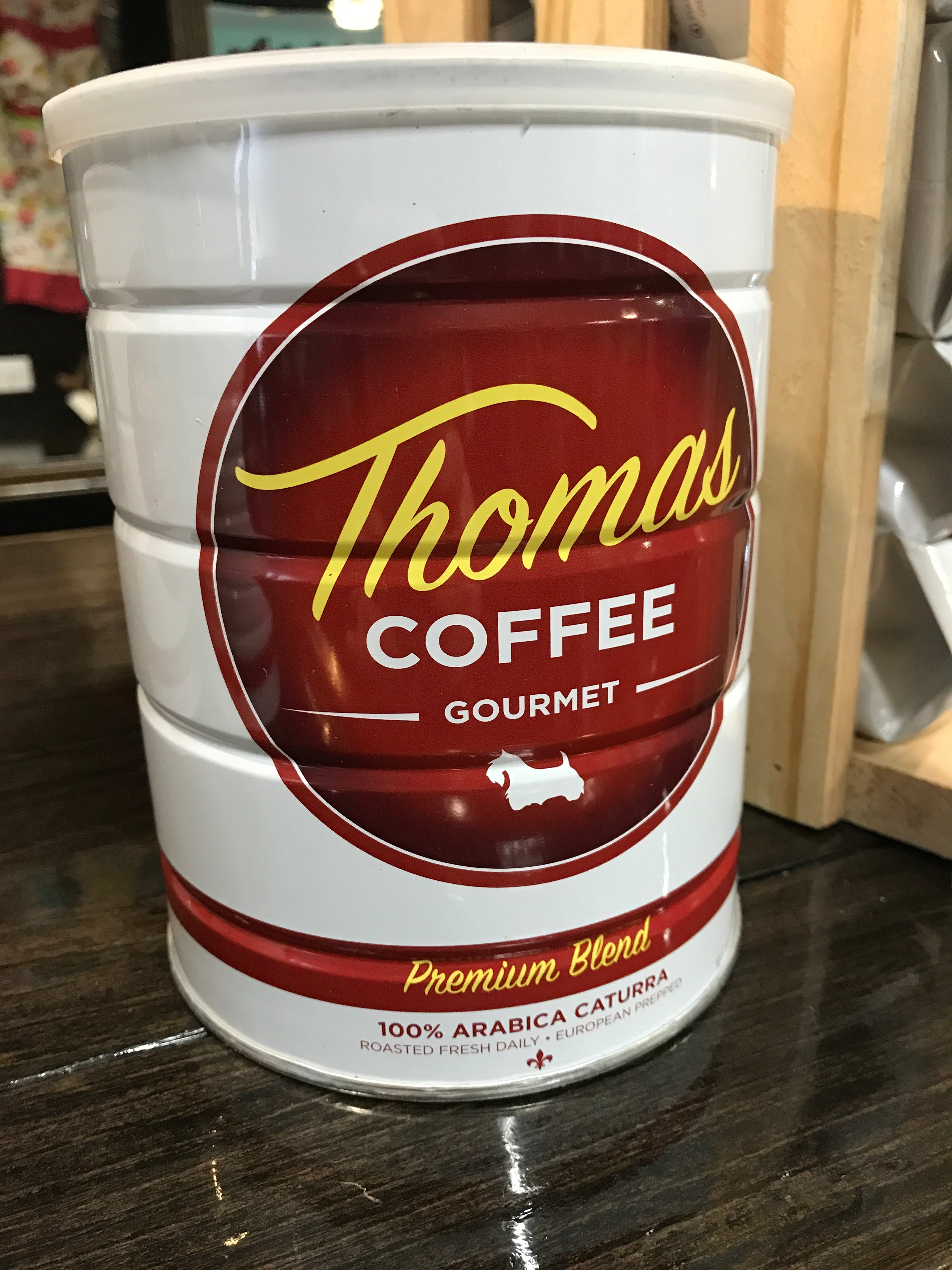 Thomas Street: Premium Ground Coffee