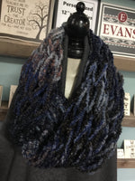Arm Knitted Scarf/Cowl