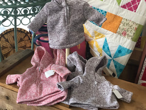 Doll Half Zip Hoodies