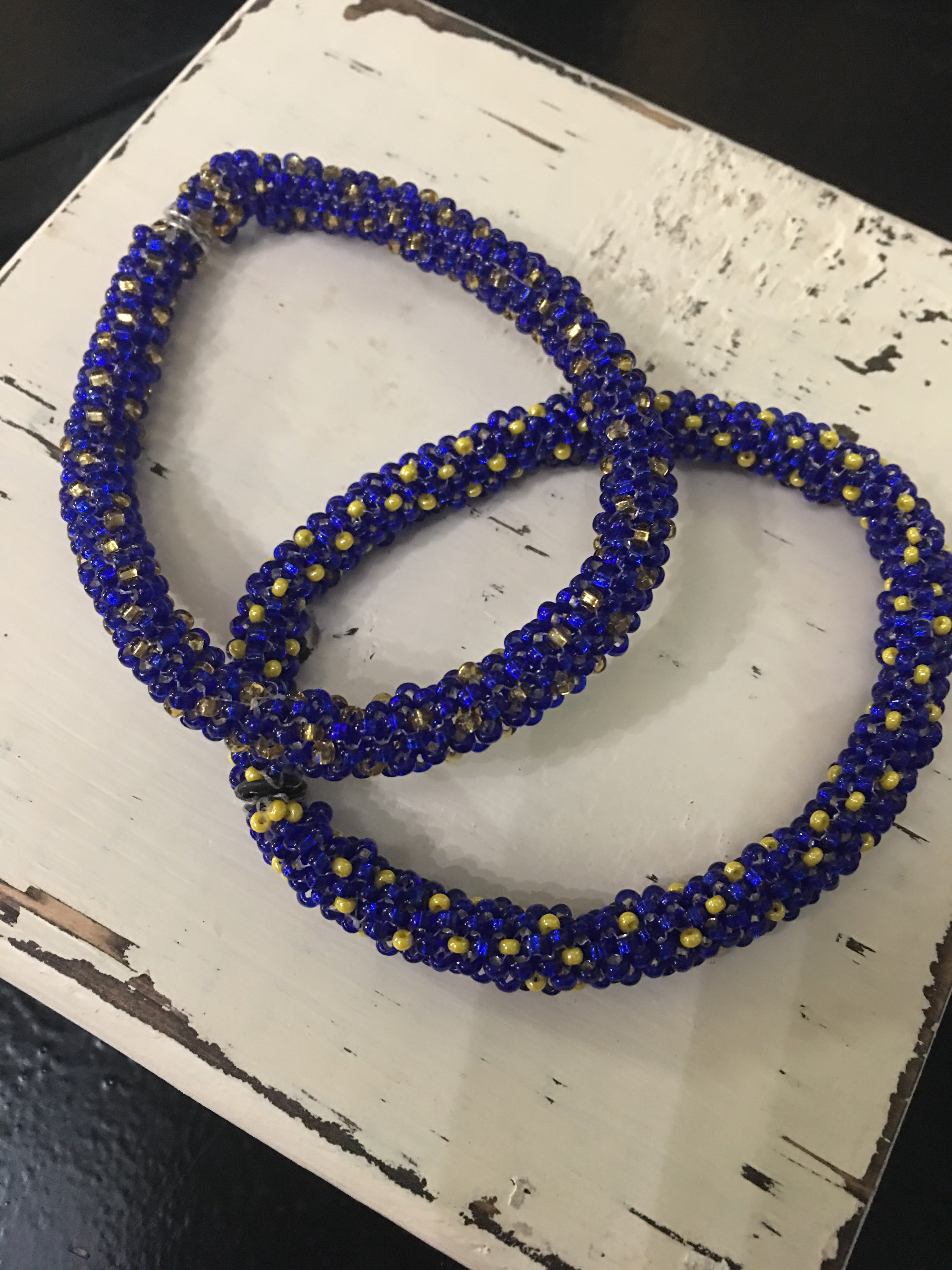 Seed Bead with Clasp Bracelets