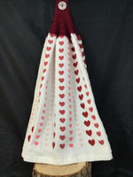 Valentine's Day Hand Towel