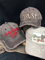 Distressed Trucker Caps
