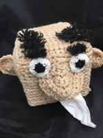 Crocheted Character Tissue Box Covers