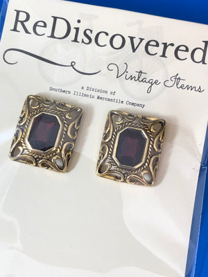 ReDiscovered Vintage Earrings (Clip)