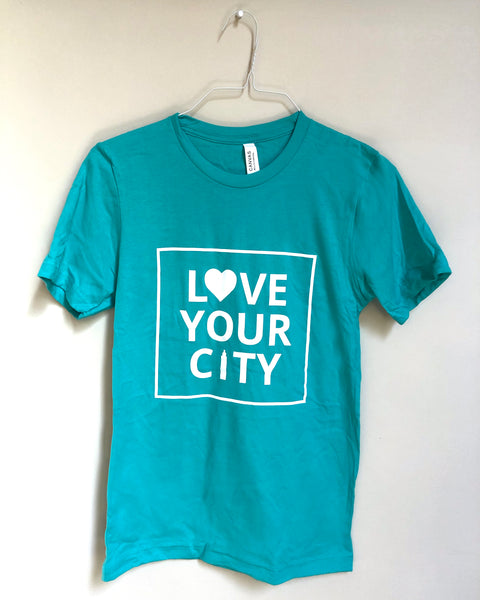 Love Your City Shirt In Blue