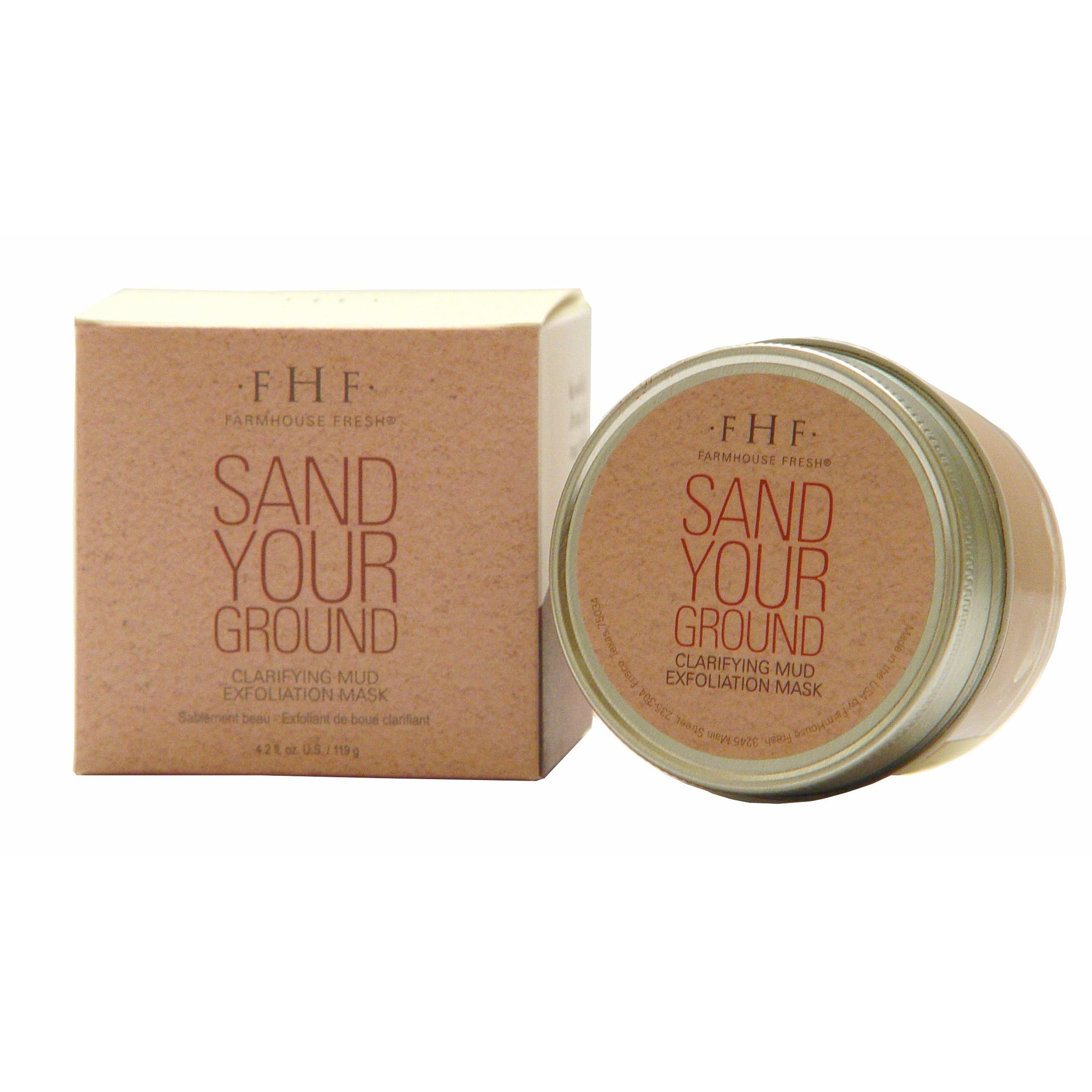 Sand Your Ground - Clarifying Mud Exfoliation Mask - simply-coco-boutique