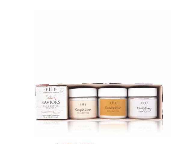 Skin Saviors Shea Butter Sampler Set