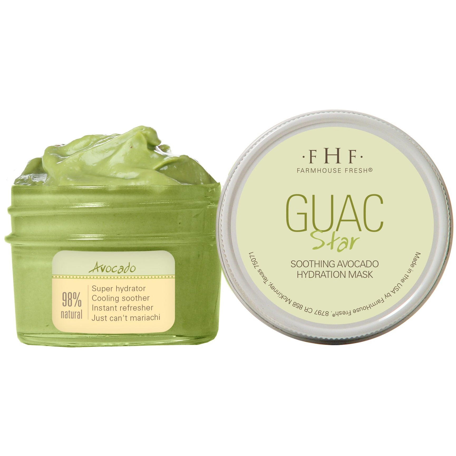 Guac Star - Soothing Avocado Hydration Mask - simply-coco-boutique