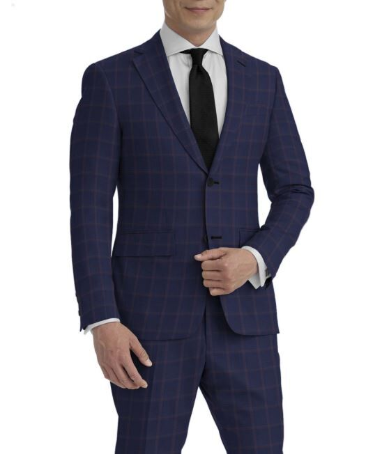 Blue Rose Windowpane