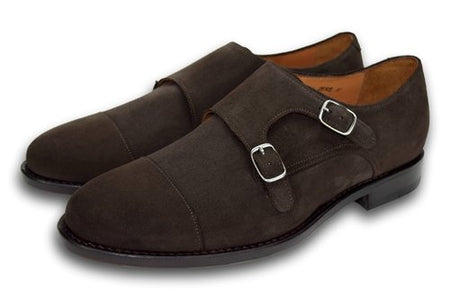Charleston Well Bred Brown Suede