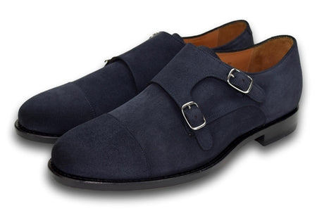 Charleston Blue Slate Suede