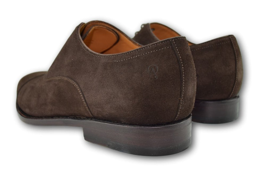 Macon -WELL-BRED Brown Suede