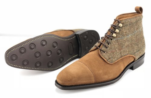 Suede and Tweed Limited Edition Boot