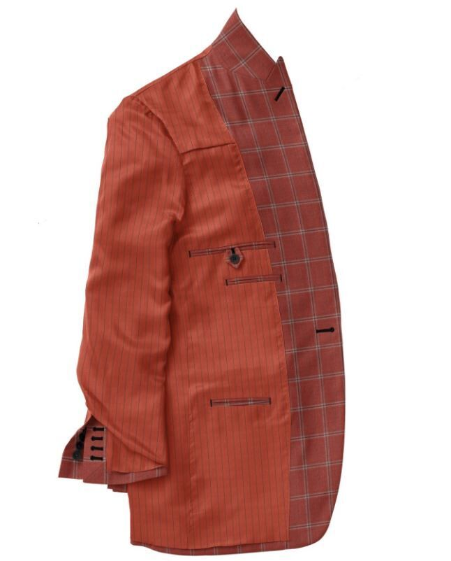 Red Grey Windowpane