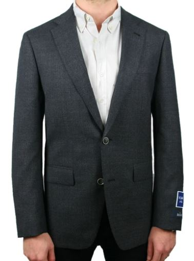 REDA CHARCOAL YEAR ROUND NEAT JACKET