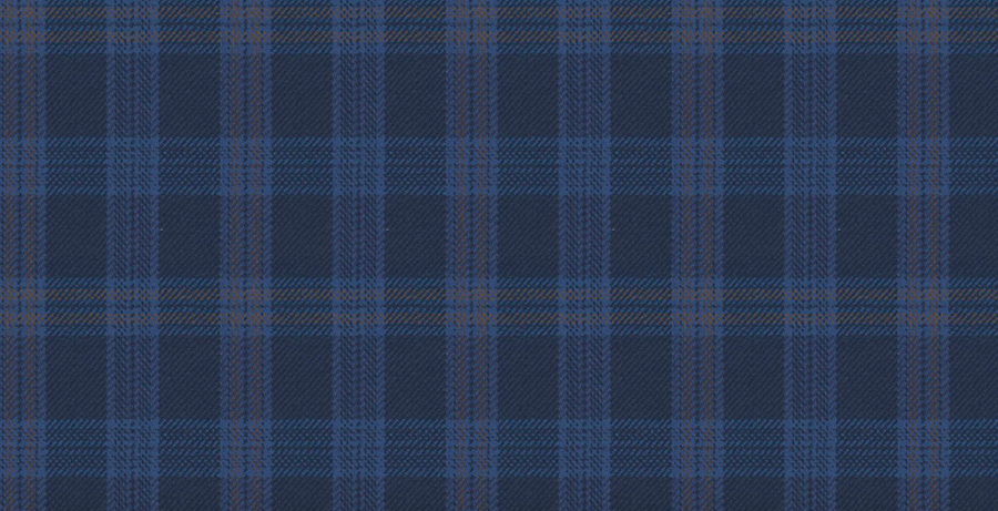 Signature Blue Plaid