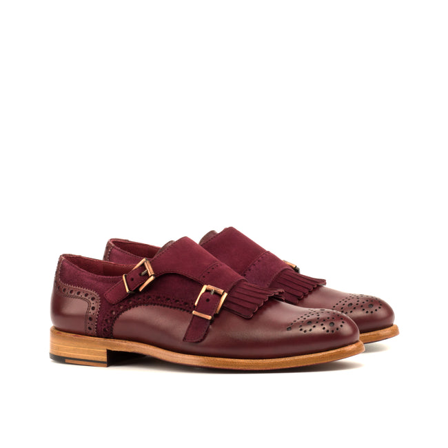 Kiltie Monk Strap Woman 008