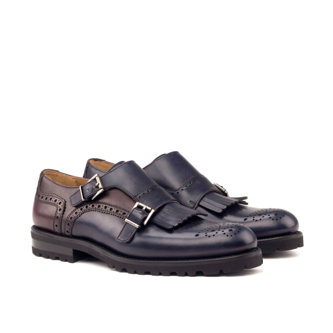 Kiltie Monk Strap Woman 005