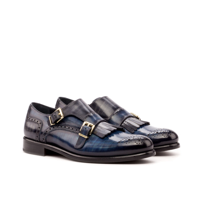 Kiltie Monk Strap Woman 001