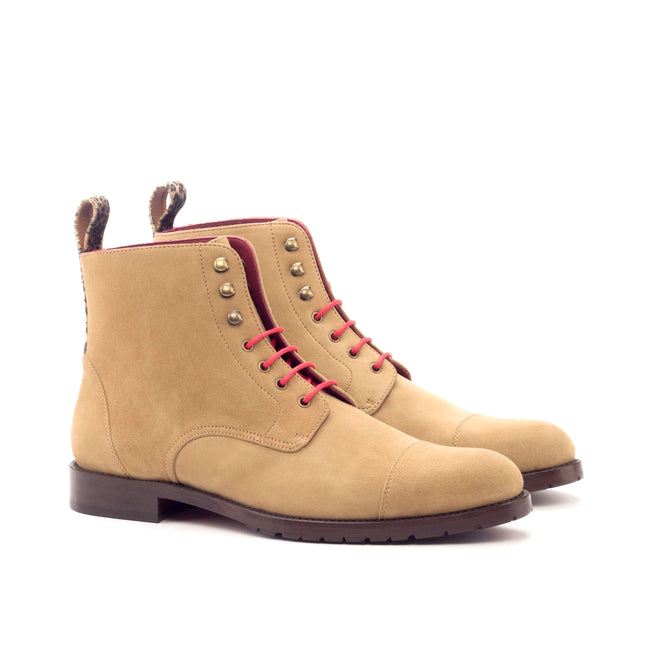 Lace Up Captoe Boot 006